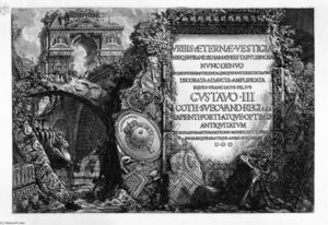 Giovanni Battista Piranesi - The Roman antiquities, t. 1, Plate I.