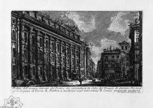 Giovanni Battista Piranesi - The Roman antiquities, t. 1, Plate XIII