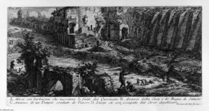 Giovanni Battista Piranesi - The Roman antiquities, t. 1, Plate XVI