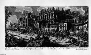 Giovanni Battista Piranesi - The Roman antiquities, t. 1, Plate XXXV