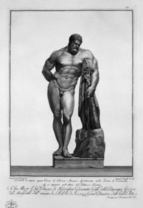 Giovanni Battista Piranesi - Farnese Hercules