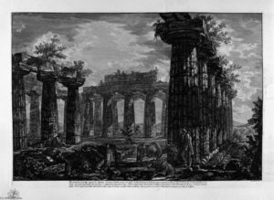Giovanni Battista Piranesi - Inside the same building