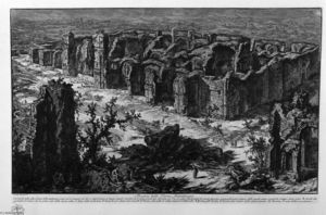 Giovanni Battista Piranesi - Ruins of the Antonine Baths