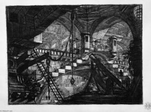Giovanni Battista Piranesi - The Arch with a Shell Ornament