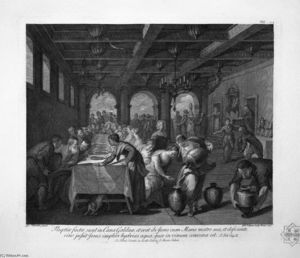 Giovanni Battista Piranesi - The Feast in the House of Simon the Pharisee