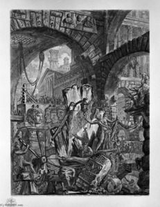 Giovanni Battista Piranesi - The Man on the Rack