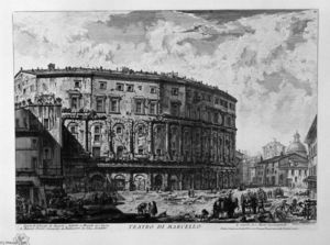 Giovanni Battista Piranesi - Theatre of Marcellus