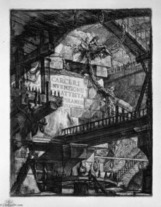 Giovanni Battista Piranesi - Title Plate