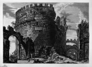 Giovanni Battista Piranesi - Tomb of Cecilia Metella