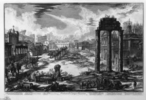 Giovanni Battista Piranesi - View of Vaccino Campo