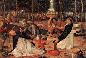 Giovanni Bellini - The Assassination of St. Peter Martyr