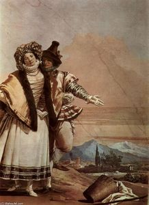 Giovanni Domenico Tiepolo - The Declaration of Love