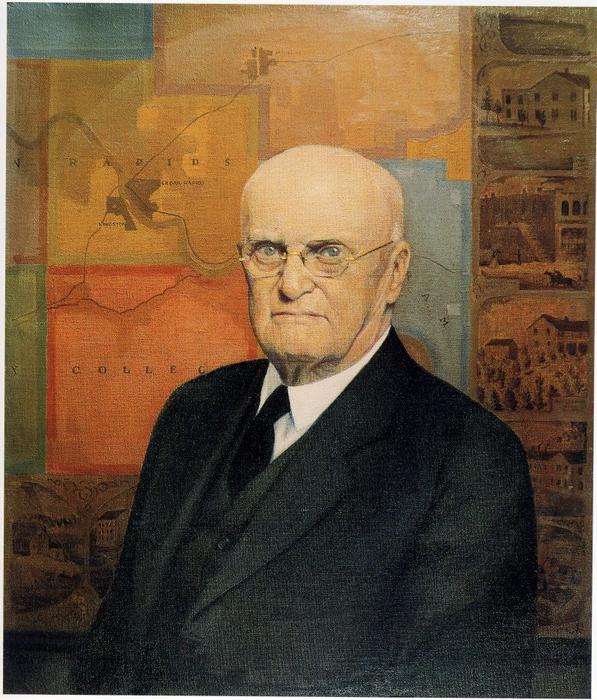 John B. Turner, Pioneer, 1929 by Grant Wood (1891-1942, United States)