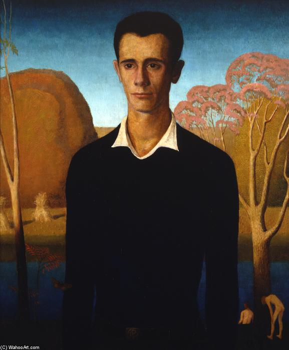 Arnold Comes of Age, 1930 by Grant Wood (1891-1942, United States) | WahooArt.com