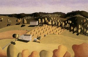 Grant Wood - Some of corn