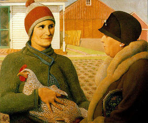 Grant Wood - The Appraisal