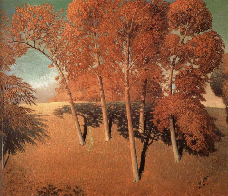 Spring's Oak, 1932 by Grant Wood (1891-1942, United States)