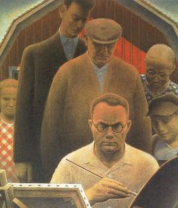 Grant Wood - Return From Bohemia