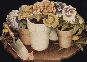 Grant Wood - Cultivation of Flower