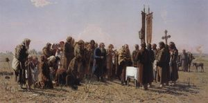 Grigoriy Myasoyedov - Prayer in time of drought