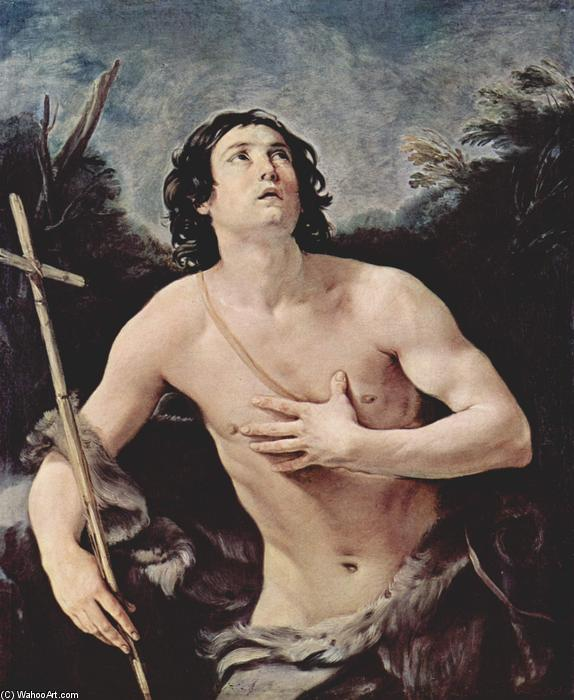 John the Baptist, Oil On Canvas by Guido Reni