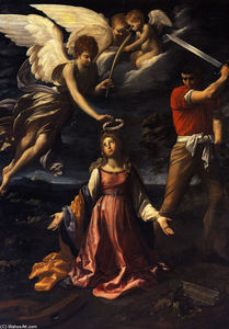 Reni Guido (Le Guide) - Martyrdom of Saint Catherine of Alexandria