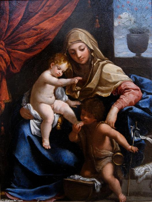 Madonna with Child and St. John the Baptist, 1606 by Guido Reni