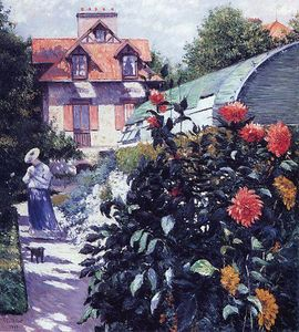 Gustave Caillebotte - The Garden at Petit Gennevilliers