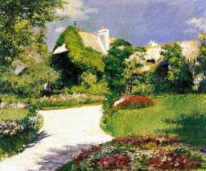 Gustave Caillebotte - Farmer-s House in Trouville
