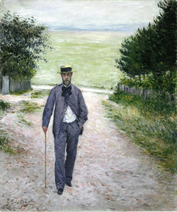 By the Sea, 1894 by Gustave Caillebotte (1848-1894, France) | Oil Painting | WahooArt.com