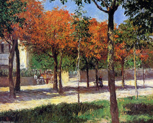 Gustave Caillebotte - Square in Argenteuil
