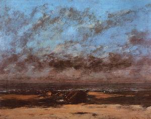 Gustave Courbet - Low Tide