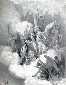 Paul Gustave Doré - Abdiel and Satan