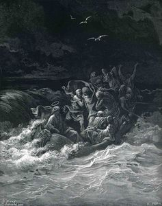 Paul Gustave Doré - Abishai Saves David's Life