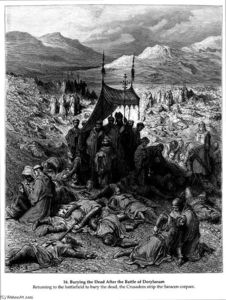 Paul Gustave Doré - Burying the Dead After the Battle of Dorylaeum