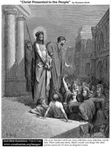 Paul Gustave Doré - Christ Presented To The People