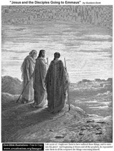 Paul Gustave Doré - Jesus And The Disciples Going To Emmaus