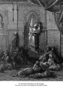 Paul Gustave Doré - The Emir's Head Shown in the Seraglio