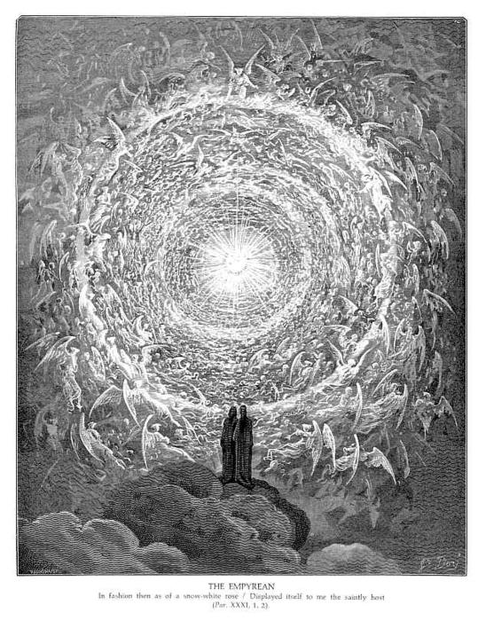 Order Oil Painting : The Empyrean by Paul Gustave Doré (1832-1883, France) | WahooArt.com