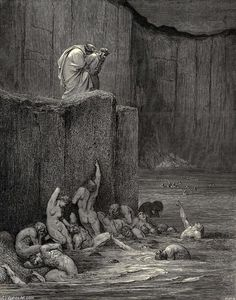 Paul Gustave Doré - The Inferno, Canto 18