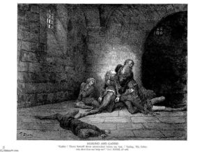 Paul Gustave Doré - Ugolino and Gaddo