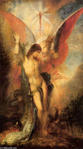 Gustave Moreau - St. Sebastian and the Angel