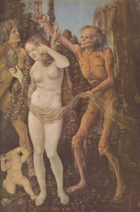 Hans Baldung - An Allegory of Death and Beauty