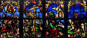 Hans Baldung - Stained glass windows in the Loch Family Chapel