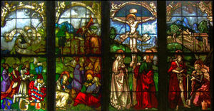 Hans Baldung - These stained glass windows in the Blumeneck Family Chapel