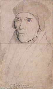 Hans Holbein The Younger - Portrait of Bishop John Fisher