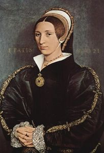Hans Holbein The Younger - Portrait of Catarina Howard