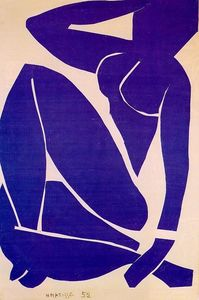 Henri Matisse - Blue Nude III - (Famous paintings)