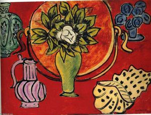 Henri Matisse - Still Life with a Magnolia