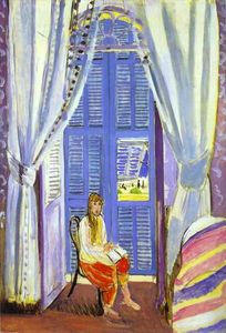 Henri Matisse - The French Window at Nice
